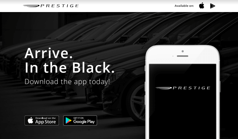 Prestige Black Car