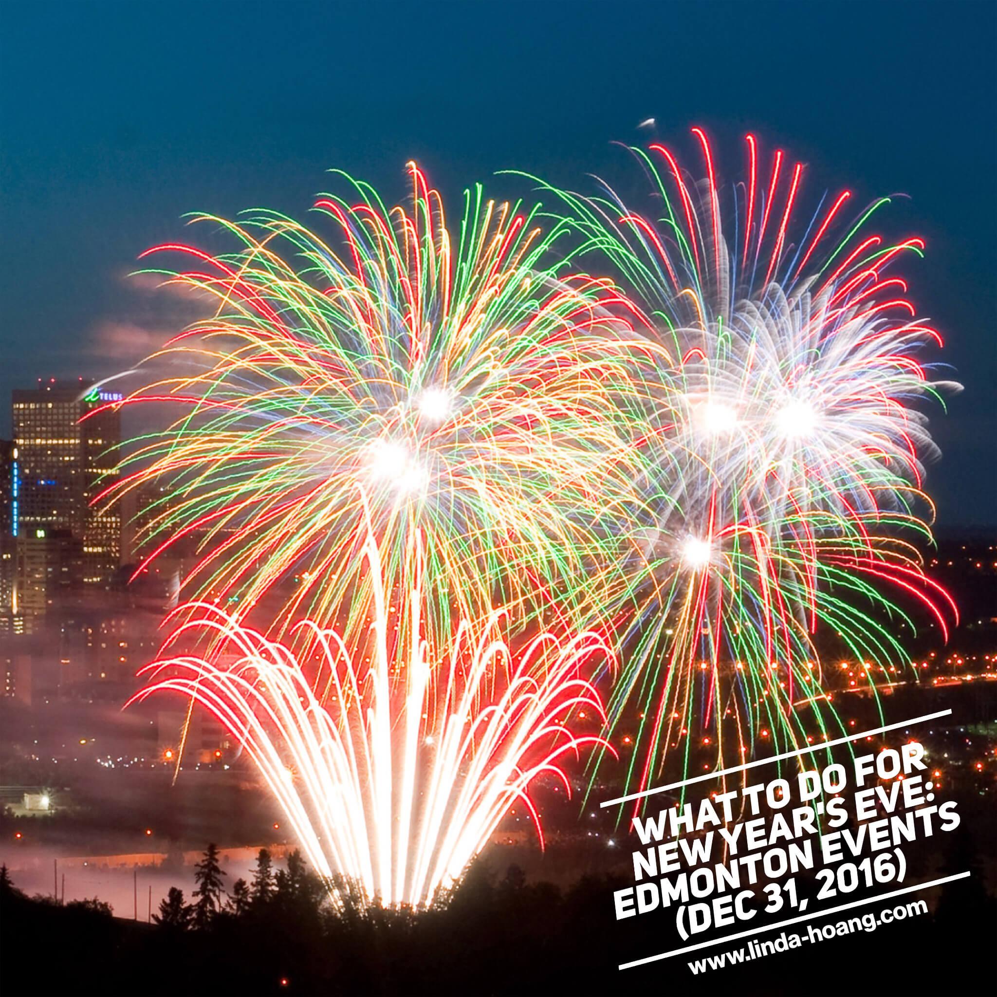 Edmonton Events New Years Eve