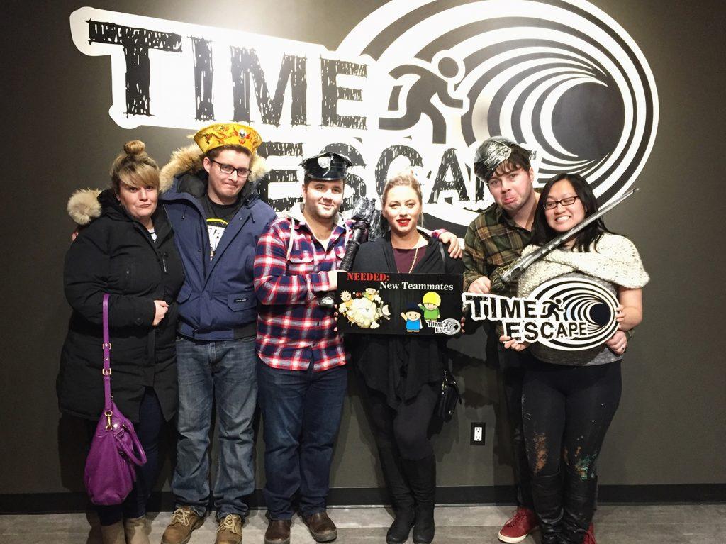 Time Escape Edmonton Escape Rooms