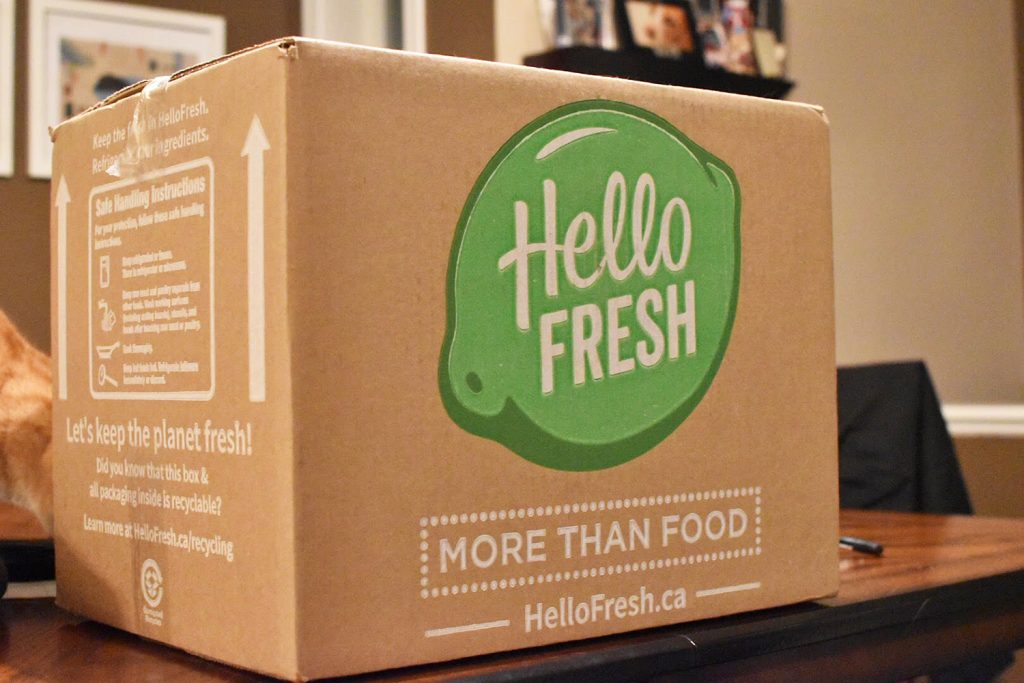 HelloFresh Canada Food Meal Box Delivery 11