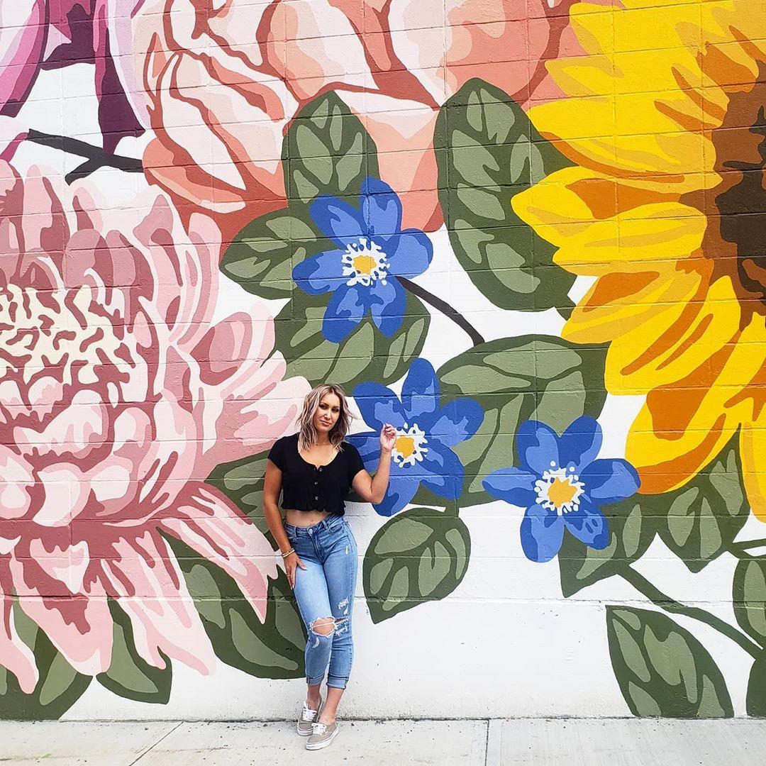 Alixandra Jade Art & Design - Manchester Square - Edmonton Instagrammable Wall