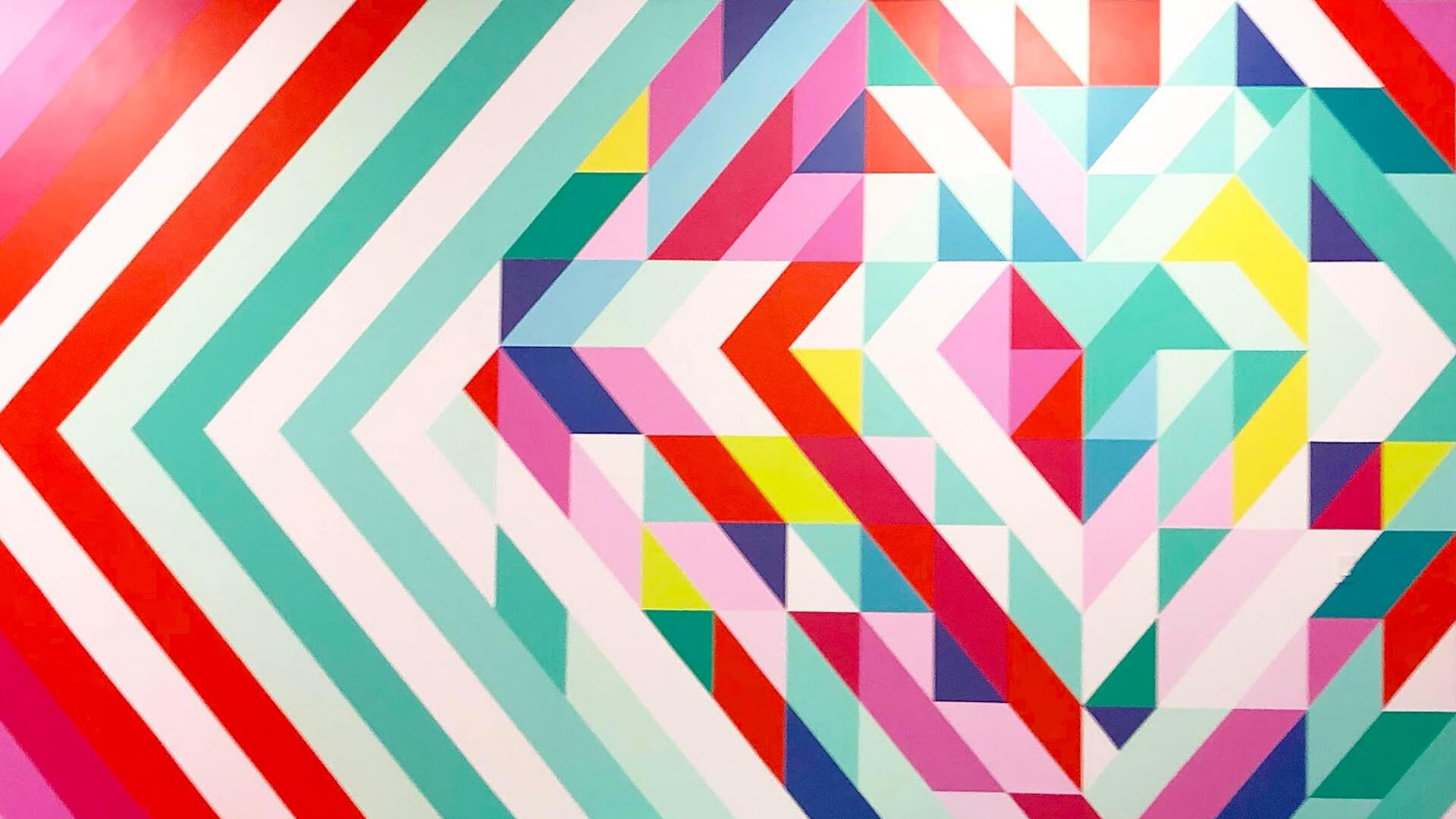CHROMA YEG - Kingsway - Michelle Hoogveld Rhys Farrell Instagrammable Wall Mural
