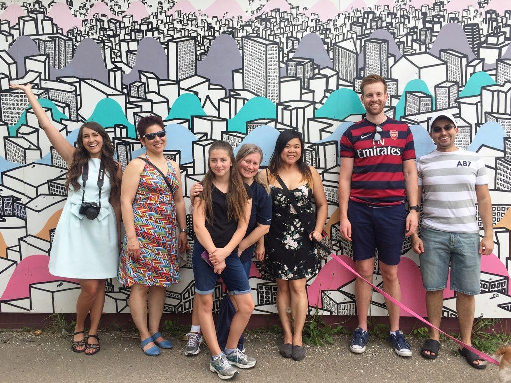 Instagrammable Wall - 124 Street Mural