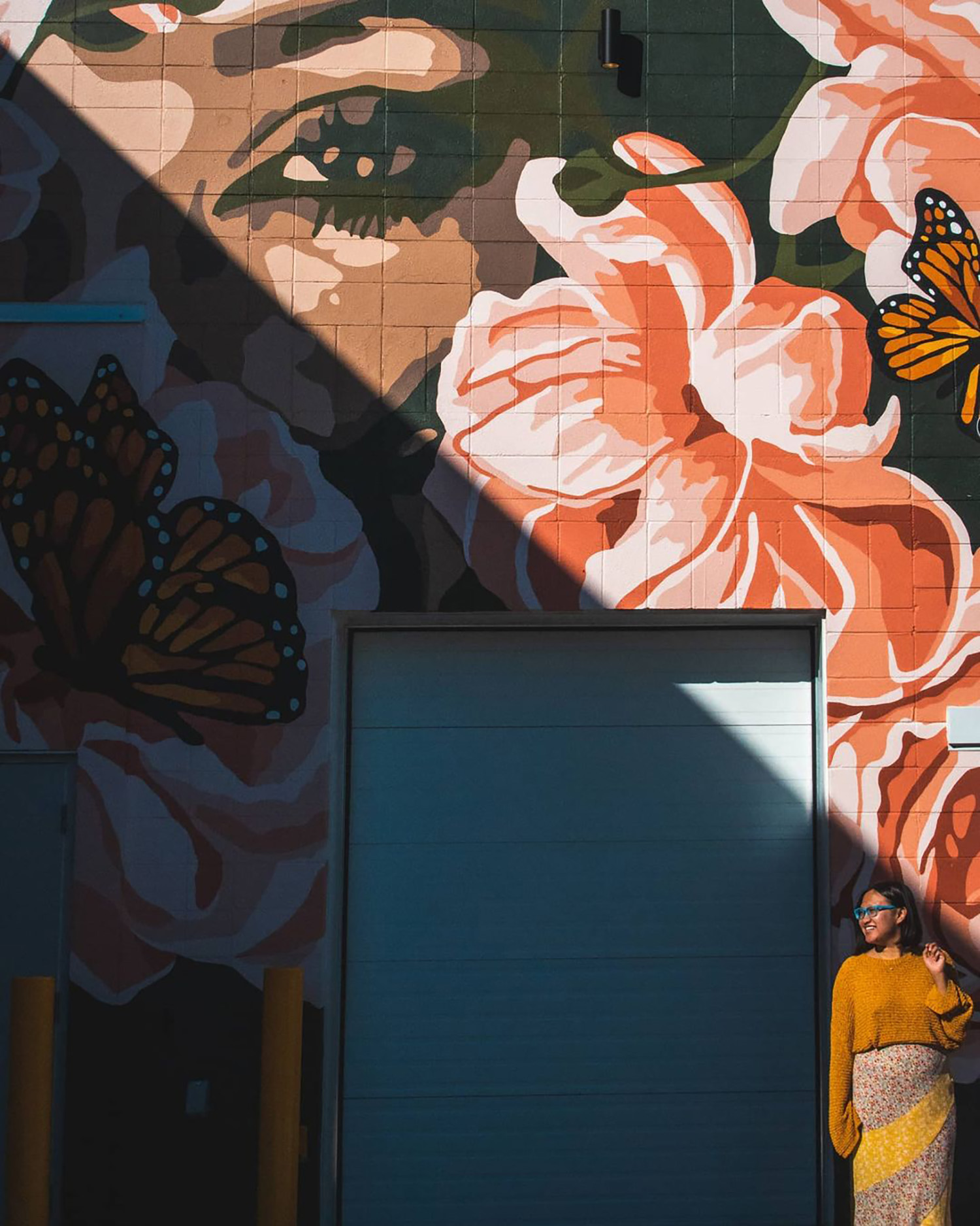 Instagrammable Walls of Edmonton - Explore Edmonton - Murals - Walls - Alixandra Jade - Lady of Manchester Square