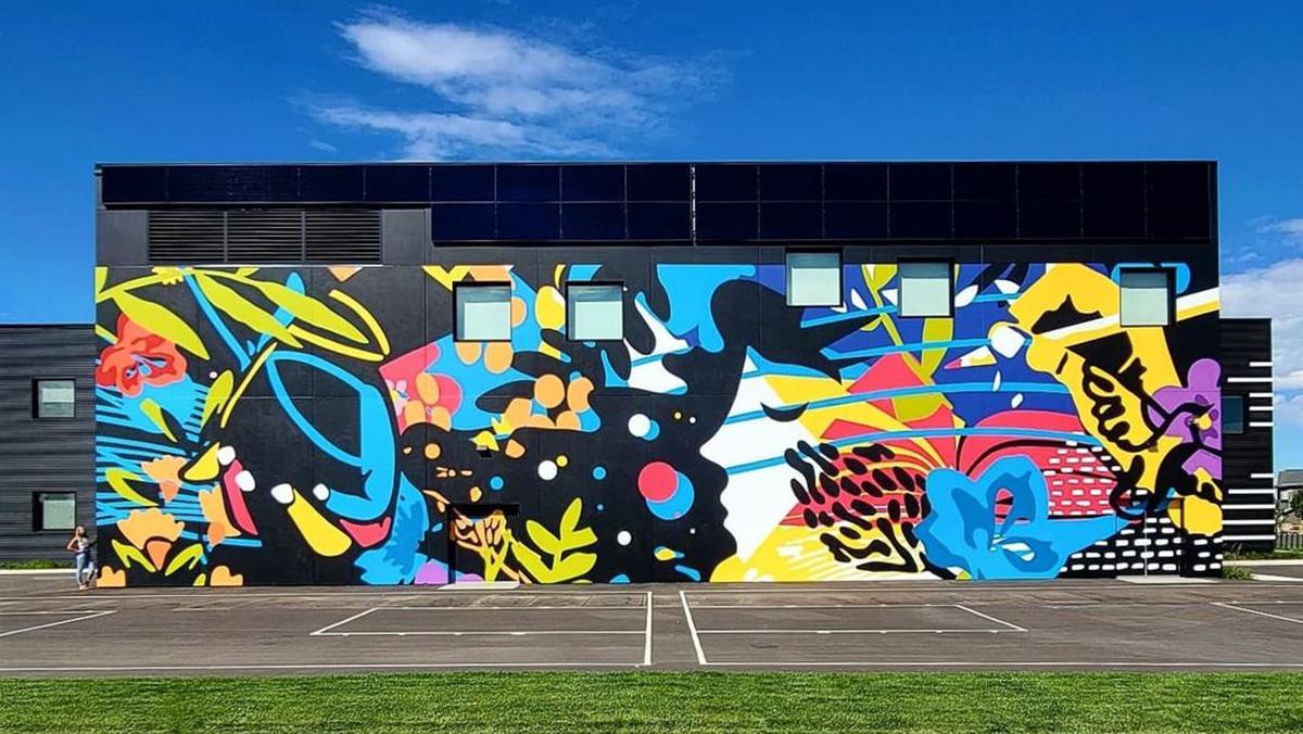 Instagrammable Walls of Edmonton - Explore Edmonton - Murals - Walls - Chapelle South Edmonton Alixandra Jade 2