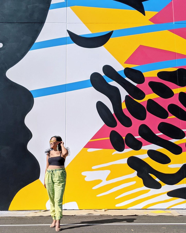 Instagrammable Walls of Edmonton - Explore Edmonton - Murals - Walls - Chapelle South Edmonton Alixandra Jade