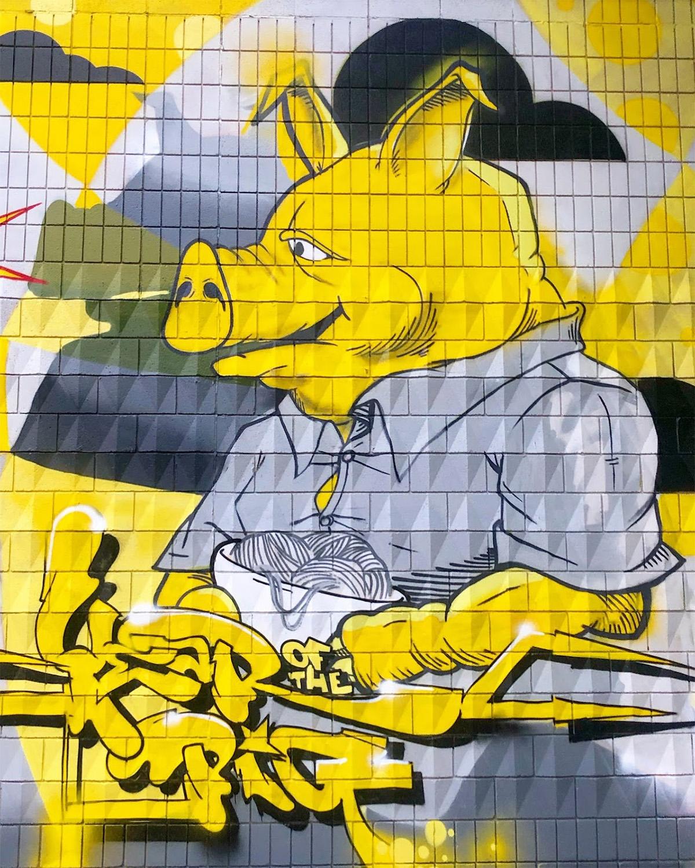 Instagrammable Walls of Edmonton - Explore Edmonton - Murals - Walls - Chinatown - Rath 2