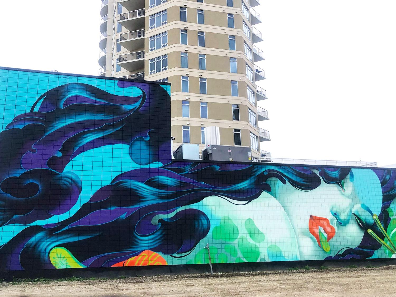 Instagrammable Walls of Edmonton - Explore Edmonton - Murals - Walls - Downtown - ONEQ