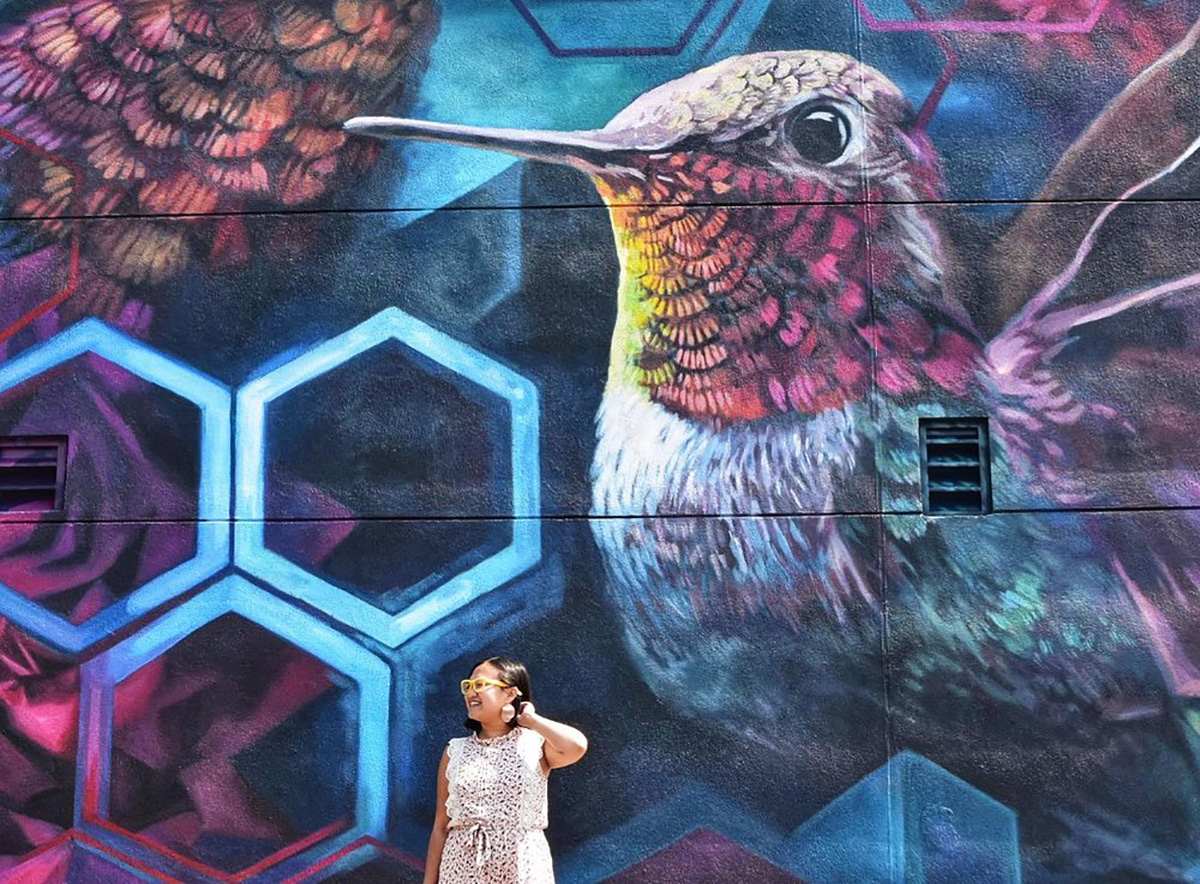 Instagrammable Walls of Edmonton - Explore Edmonton - Murals - Walls - Spruce Grove Lacey Jane and Layla Folkmann