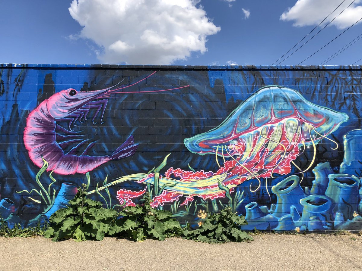 Instagrammable Walls of Edmonton - Explore Edmonton - Murals - Walls - Whyte Ave Old Strathcona - Clay Lowe