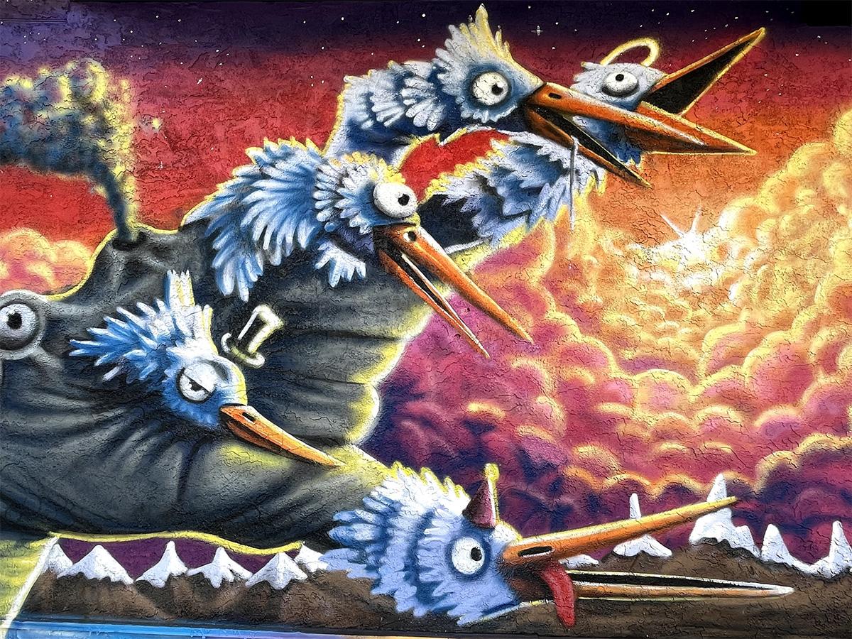 Instagrammable Walls of Edmonton - Explore Edmonton - Murals - Walls - Whyte Ave Old Strathcona - RADO Alley