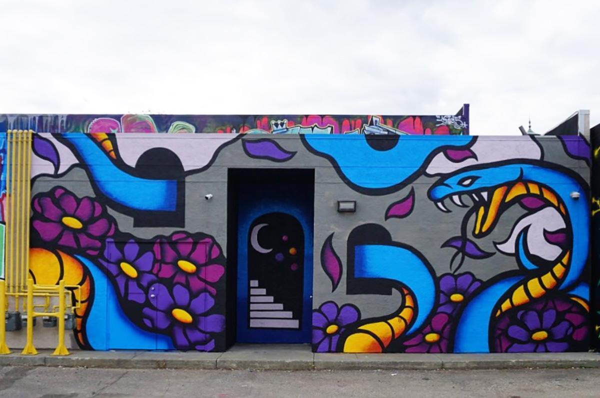 Instagrammable Walls of Edmonton - Explore Edmonton - Murals - Walls - Whyte Ave Old Strathcona - RADO Alley 9