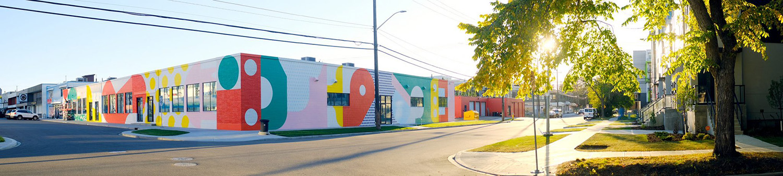 Instagrammable Walls of Edmonton - Mezzo - Explore Edmonton