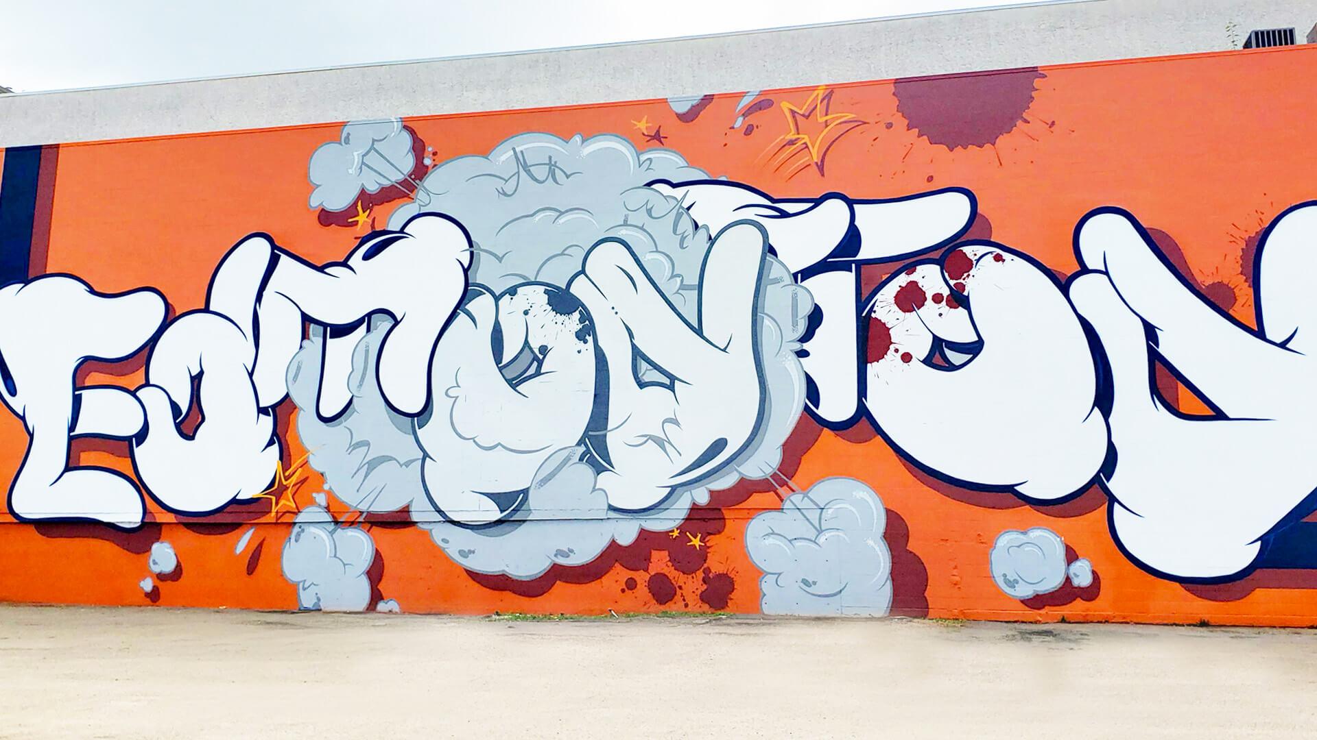 OG Slick - Edmonton Instagrammable Wall Mural