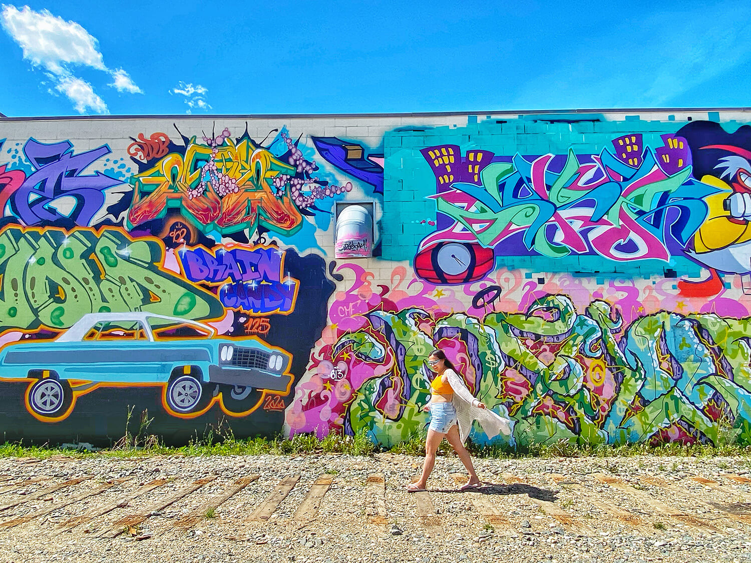 The Brain Candy Studio - Edmonton Arts - Graffiti - Explore Alberta