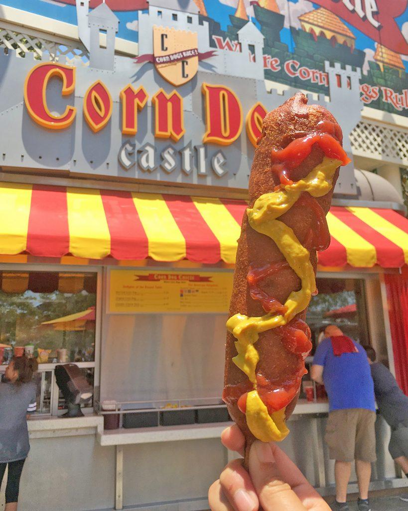 Disneyland California Adventure Food California Corn Dog Castle