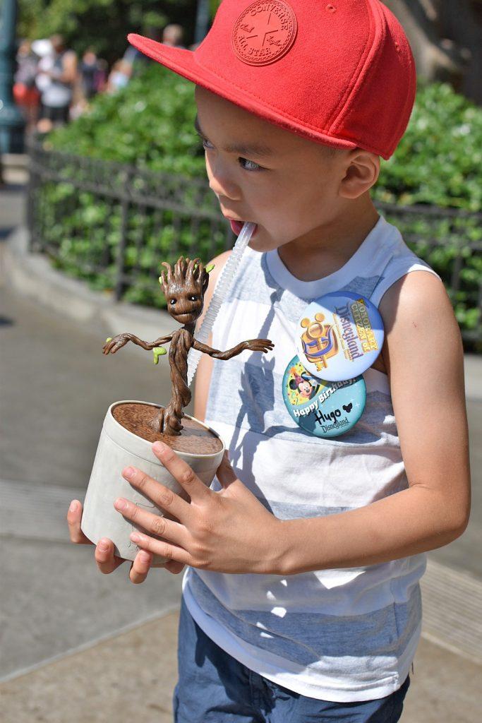 Disneyland California Adventure Groot Souvenir Sipper Cup