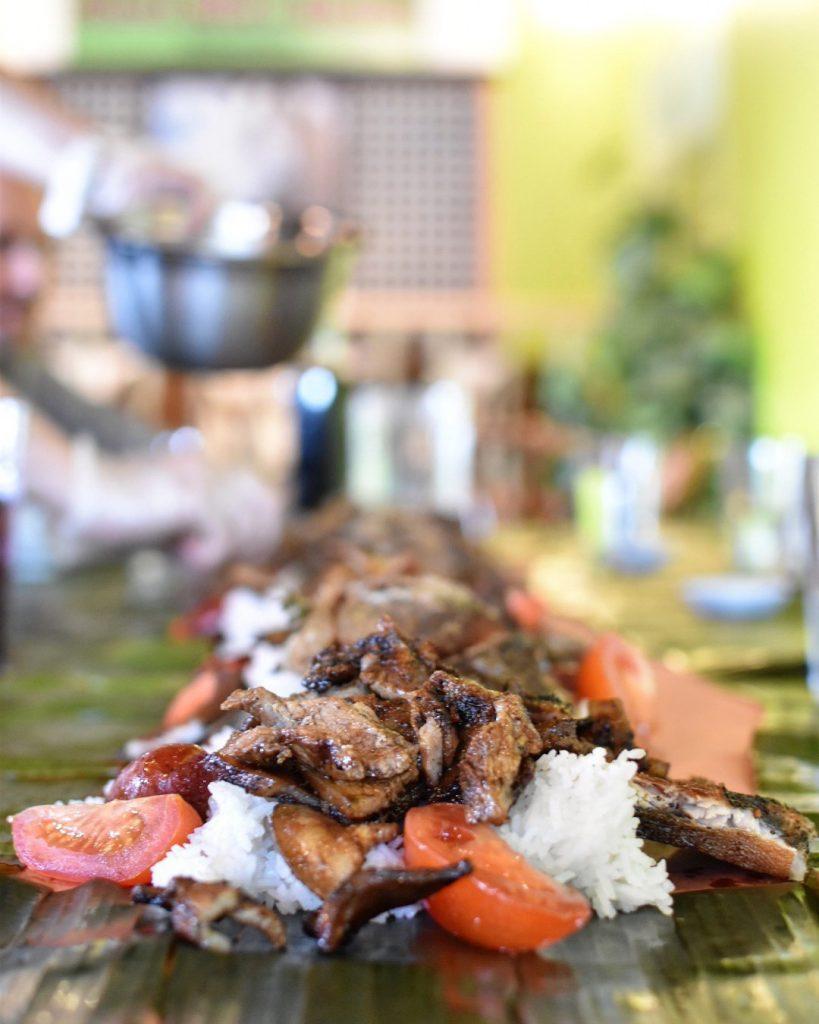 Mama Nitas Binalot Filipino Boodle Feast Edmonton