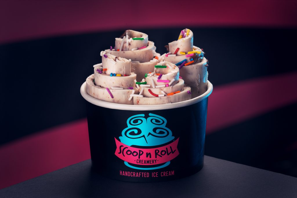 Scoop N Roll Rolled Ice Cream