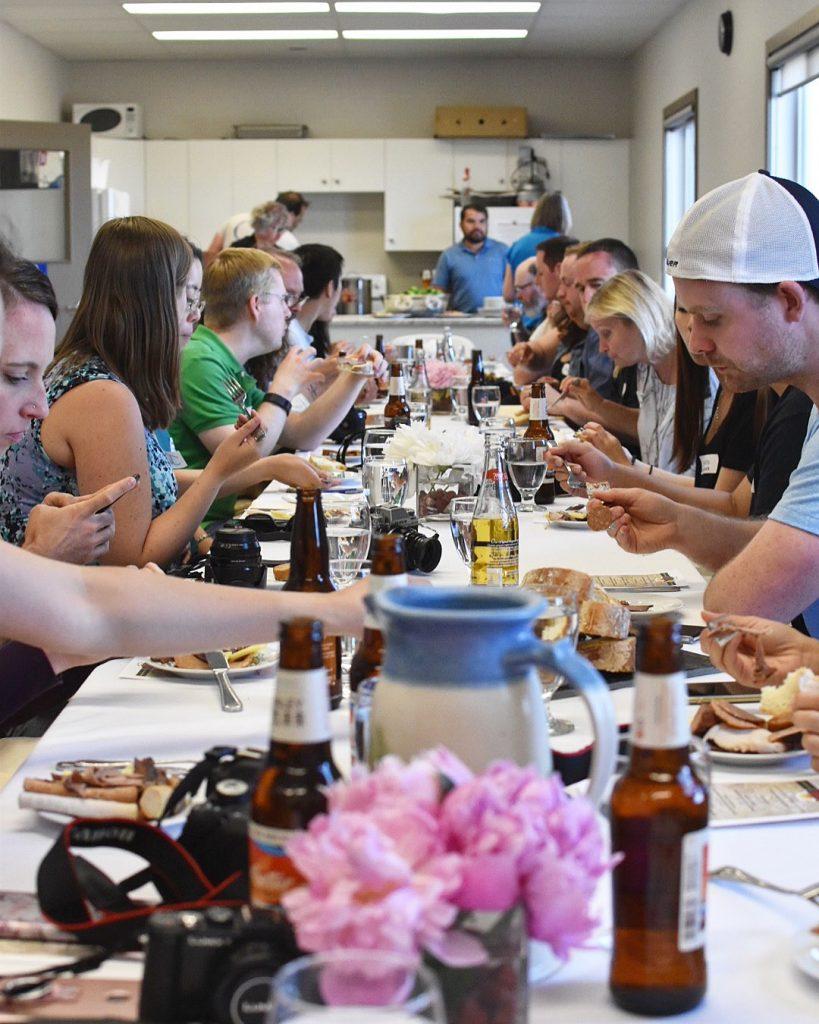 Sunworks Organic Farm Meat Shop Explore Alberta Farm Tour