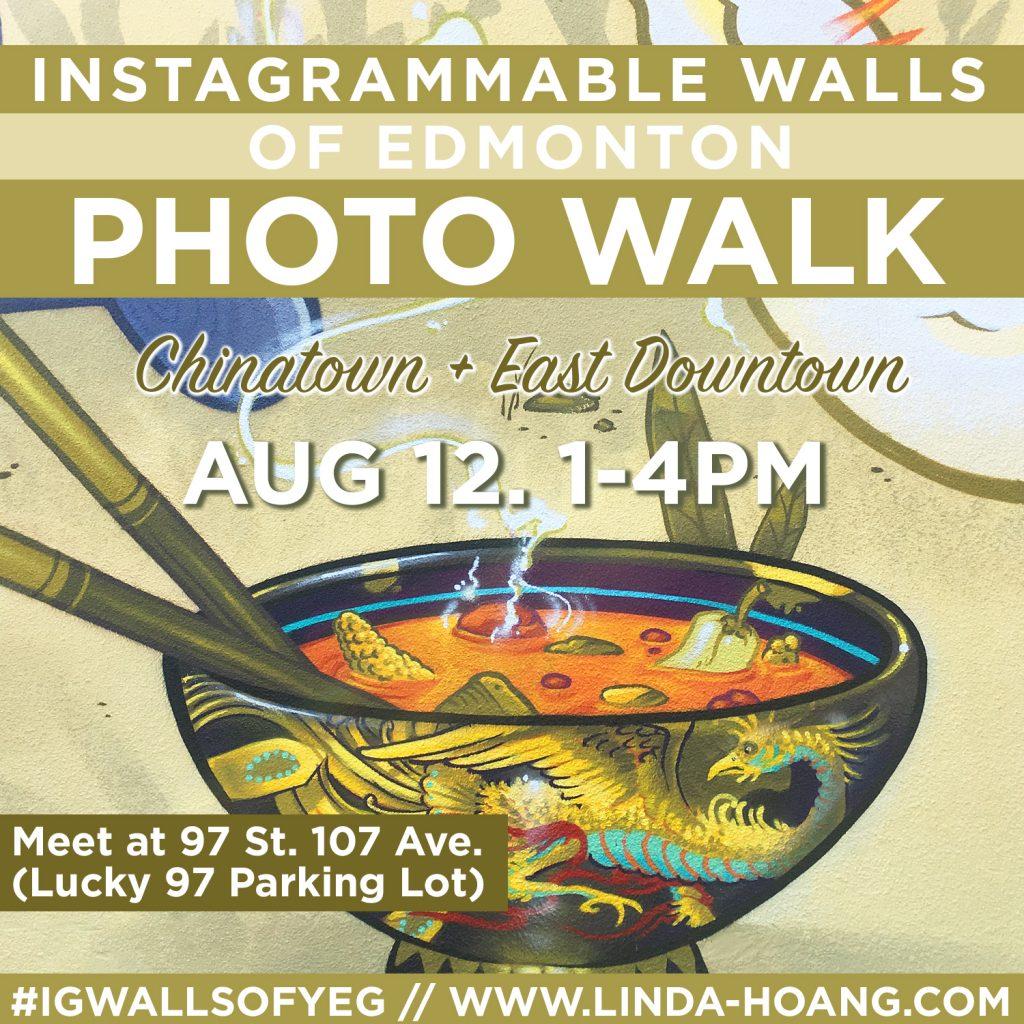 Instagrammable Walls of Edmonton Photo Walk