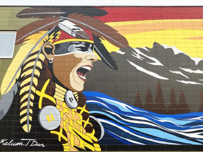 Instagrammable Walls of Calgary - Murals - Kalum Teke Dan - YYC Beltline Urban Mural Project BUMP Festival