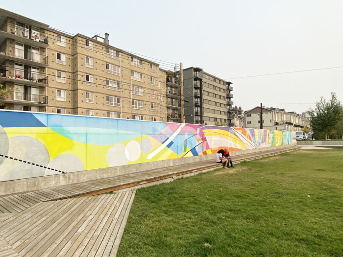 Instagrammable Walls of Calgary - Murals - Sergey Ryutin - Thompson Family Park
