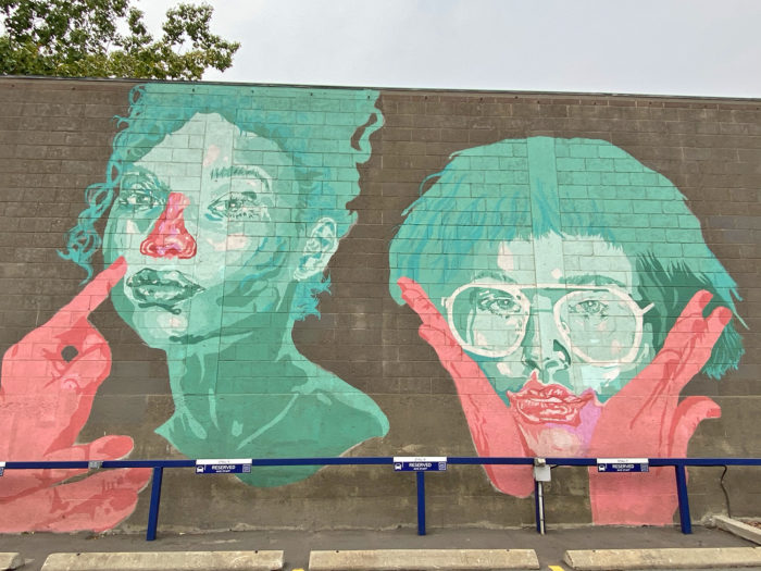 Instagrammable Walls of Calgary - Murals - YYC Beltline Urban Mural Project BUMP Festival - Adam Zhu