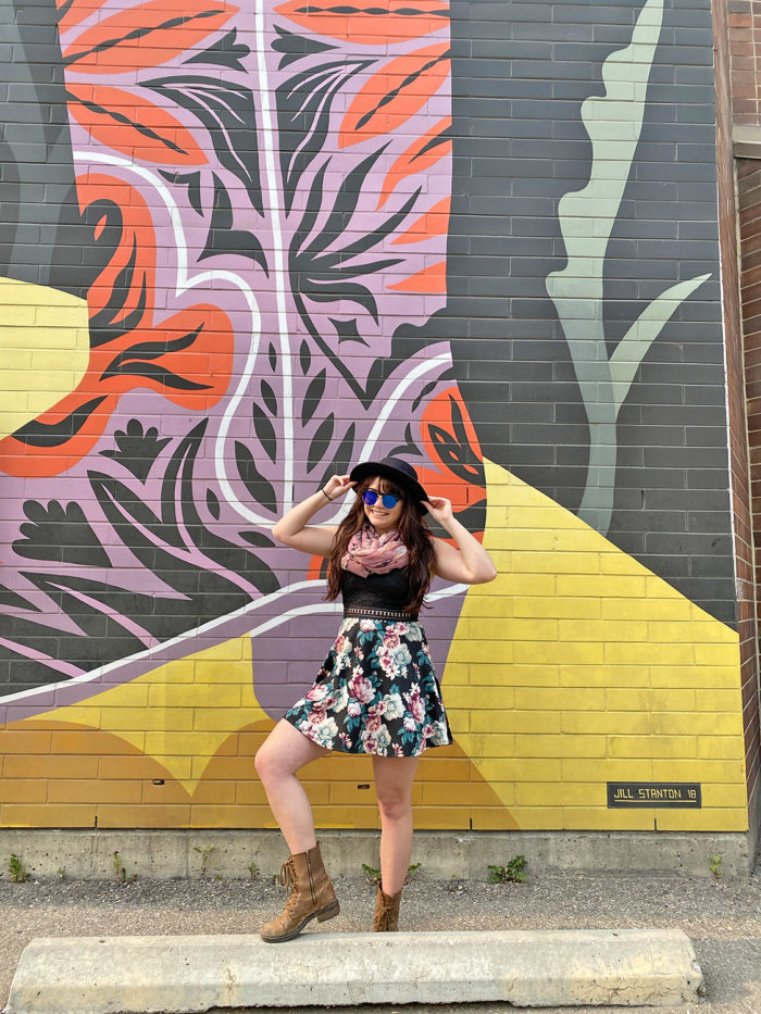 Instagrammable Walls of Calgary - Murals - YYC Beltline Urban Mural Project BUMP Festival - Jill V Stanton