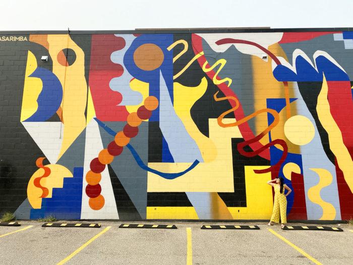 Instagrammable Walls of Calgary - Murals - YYC Beltline Urban Mural Project BUMP Festival - Nasarimba