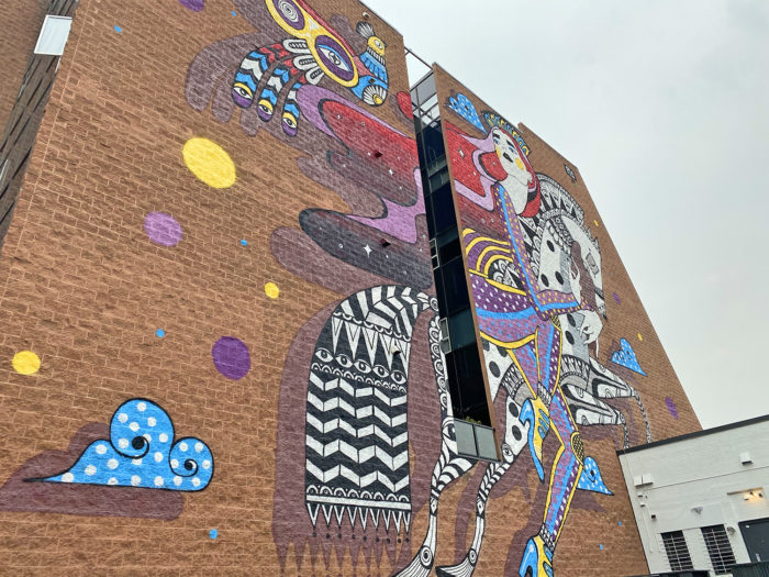 Instagrammable Walls of Calgary - Murals - YYC Beltline Urban Mural Project BUMP Festival - Ola Volo