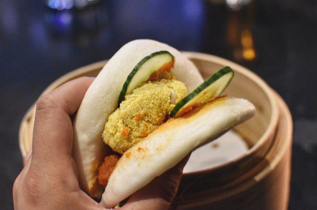 Raw Bar Deep Fried Oyster Bao Hotel Arts Calgary Food Restaurants