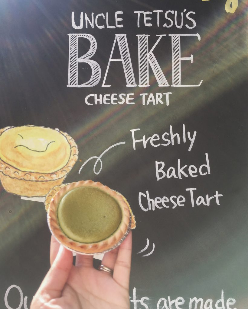 Uncle Tetsu Cheese Tart Cheesecake Toronto