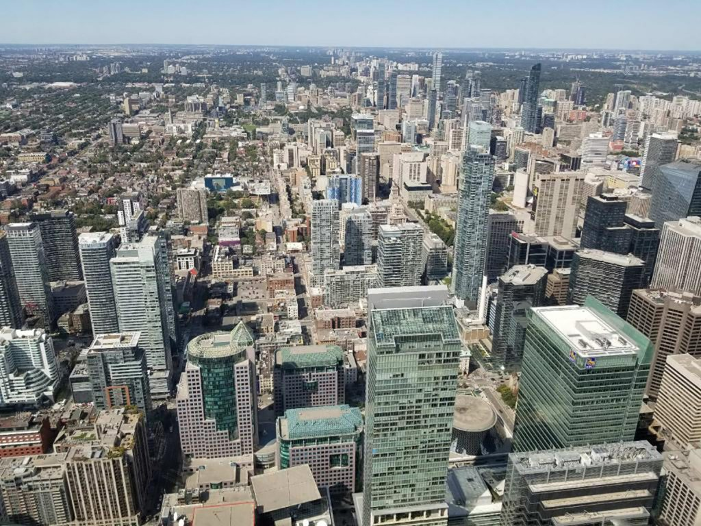What To Do in Toronto - CN Tower Views