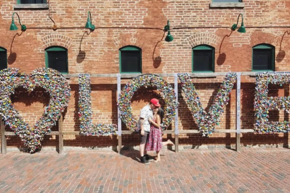What To Do in Toronto - Love Locks Distillery District