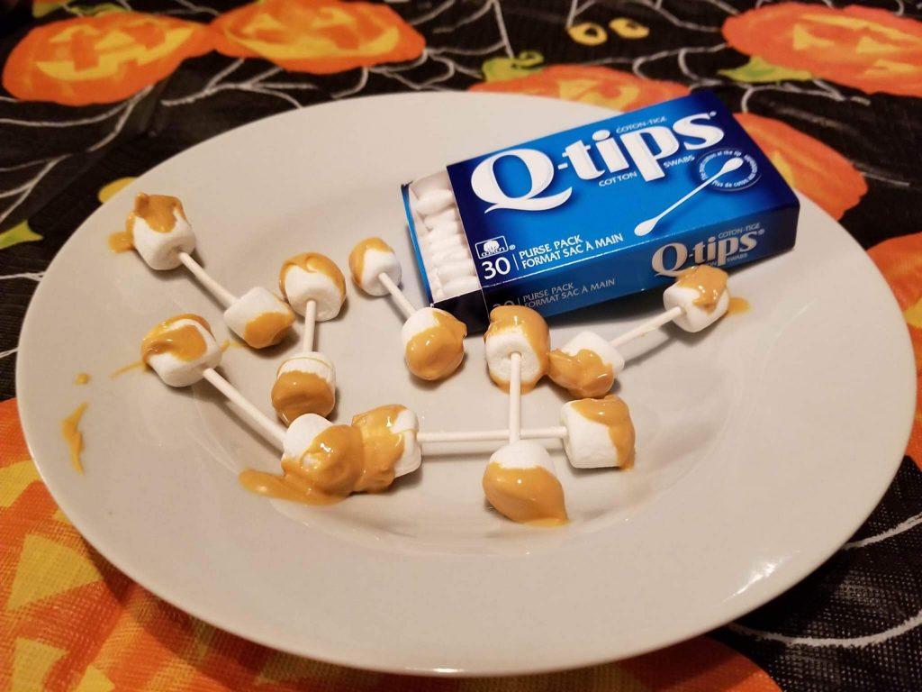 Halloween Food - Butterscotch QTips