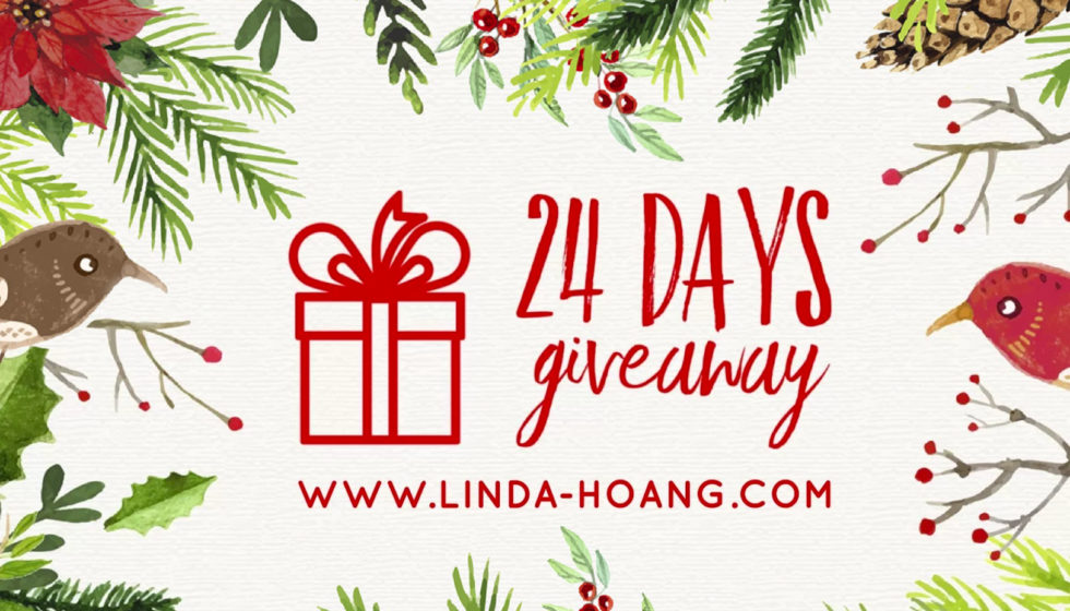 24 Days of Christmas Giveaways - Linda Hoang - Lindork - Food Restaurants Edmonton