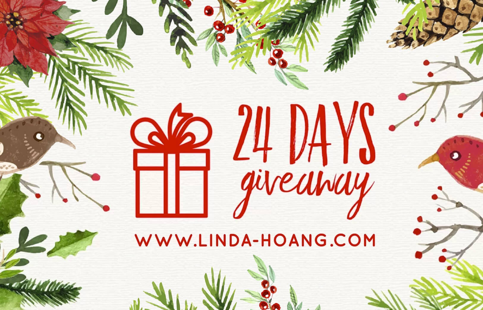 24 Days of Christmas Giveaways - Linda Hoang - Lindork - Food Restaurants Edmonton