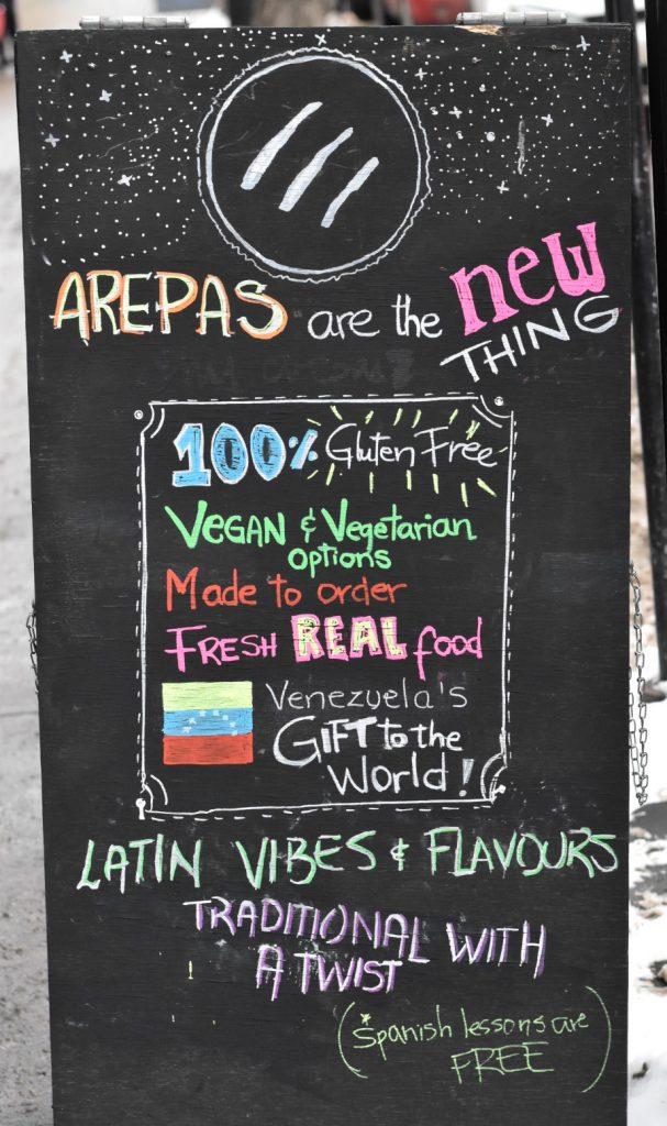 Avila Arepa Venezuelan Kitchen Restaurant Old Strathcona Whyte Ave