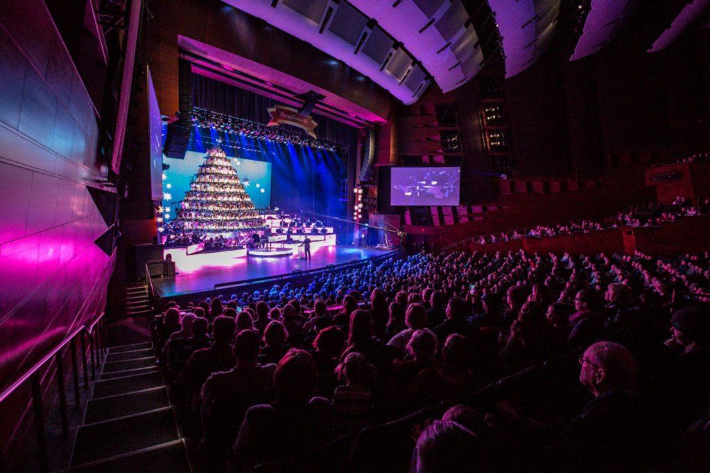 The Edmonton Singing Christmas Tree