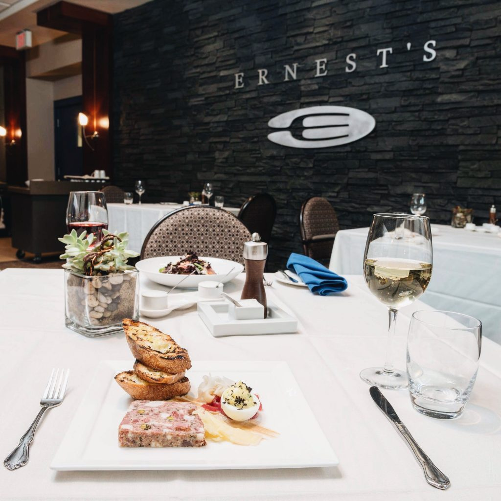 Ernest's NAIT Culinary Arts Restaurant Edmonton