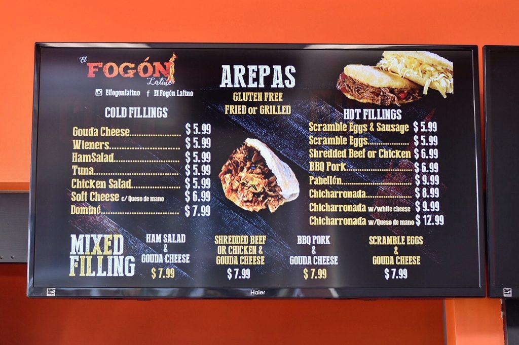 El Fogon Latino Venezuelan Food Edmonton Restaurant 118 Avenue