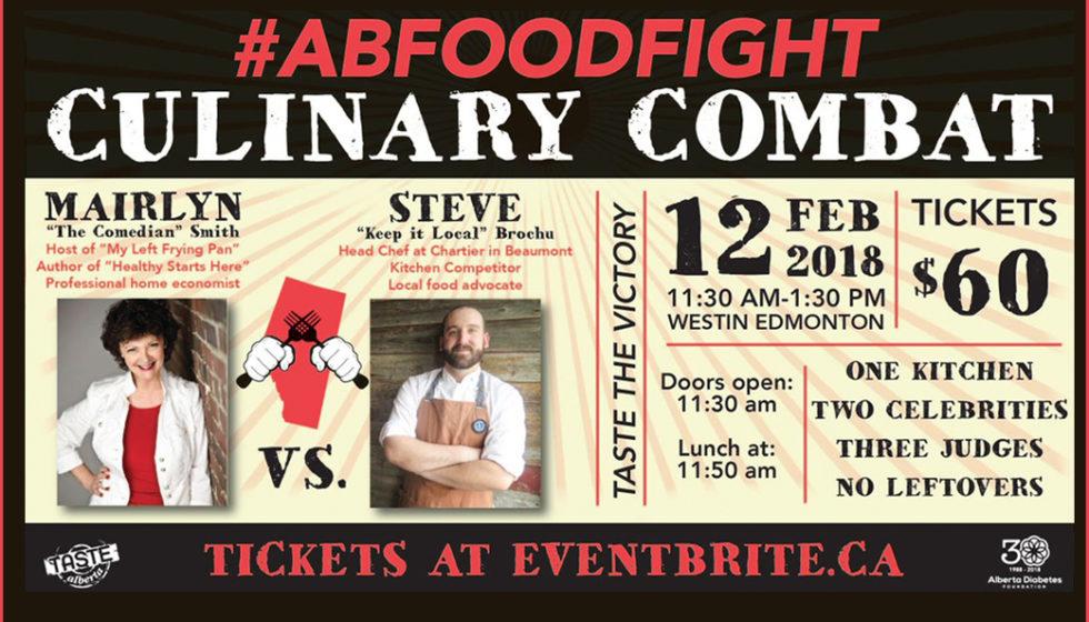 Alberta Food Fight for Alberta Diabetes Foundation