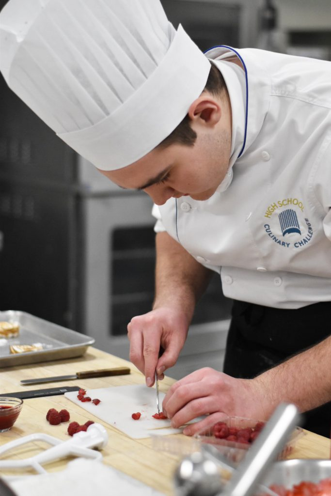 High School Culinary Challenge Edmonton Chefs