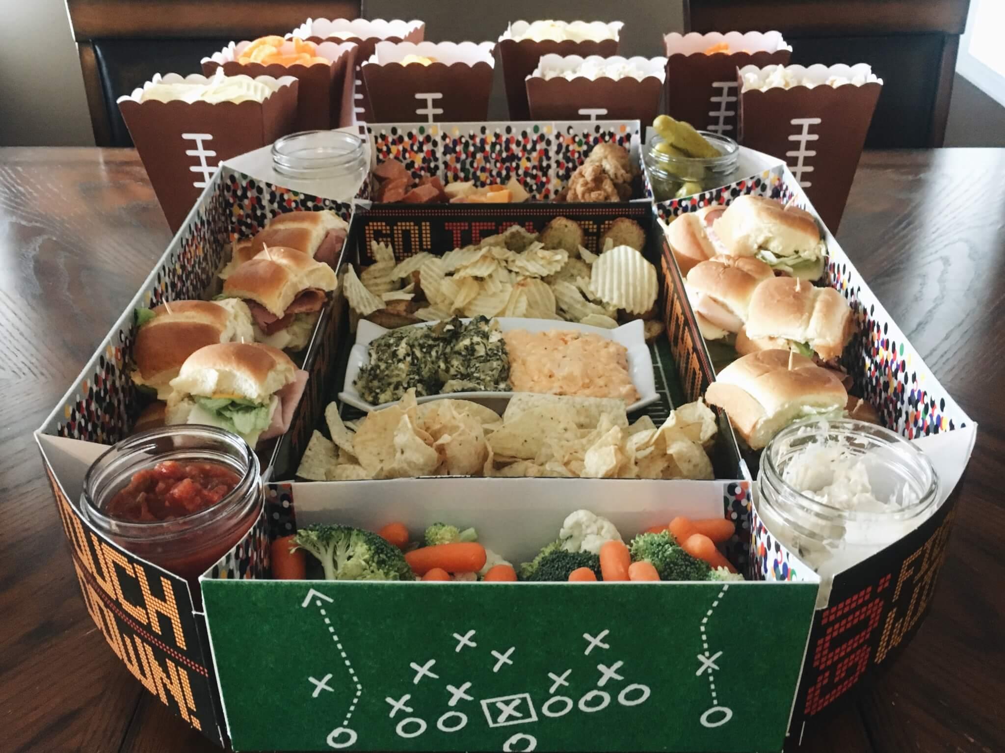 Super Bowl Snack Stadium Food