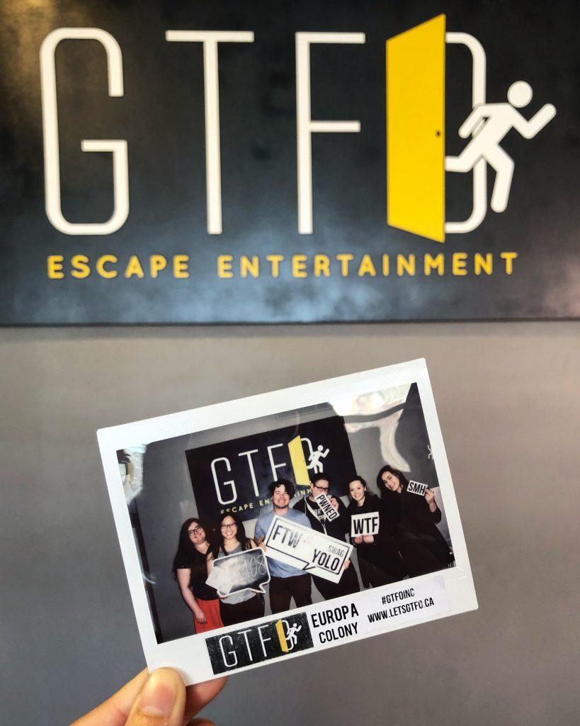 GTFO Escape Room Edmonton - Europa Colony 4836 - Downtown Explore 2
