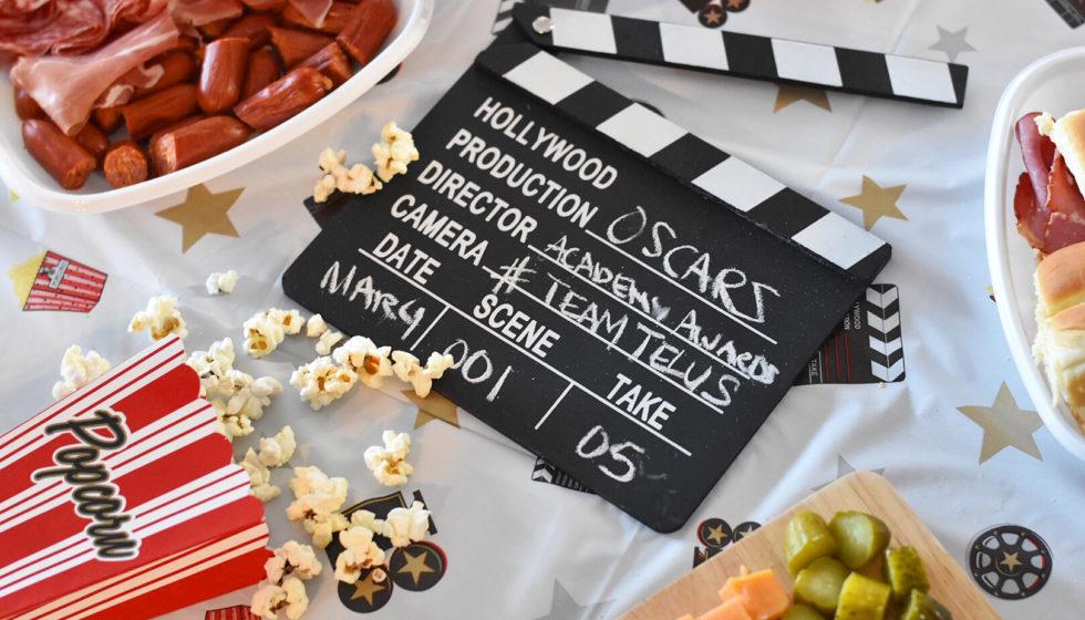 Oscars Viewing Party - Academy Awards - Party Ideas - Team TELUS - Optik On Demand