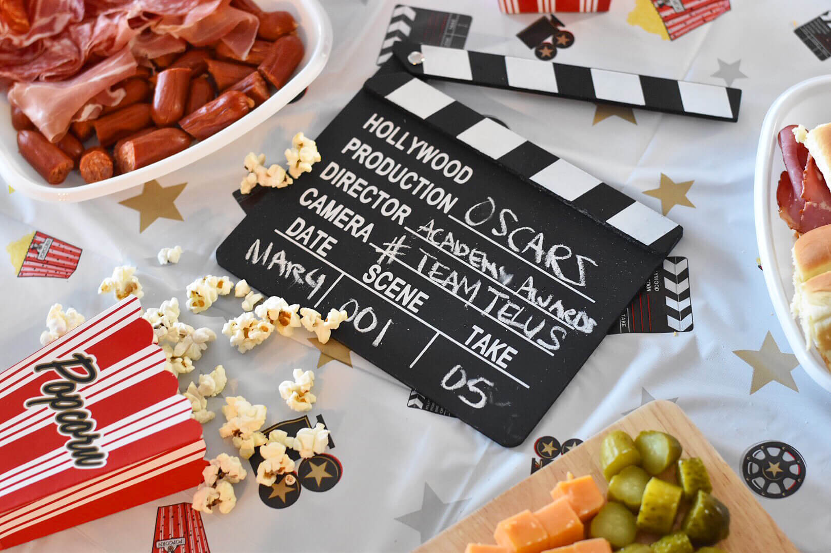 Oscars Viewing Party - Academy Awards - Party Ideas - Team TELUS - Optik On Demand