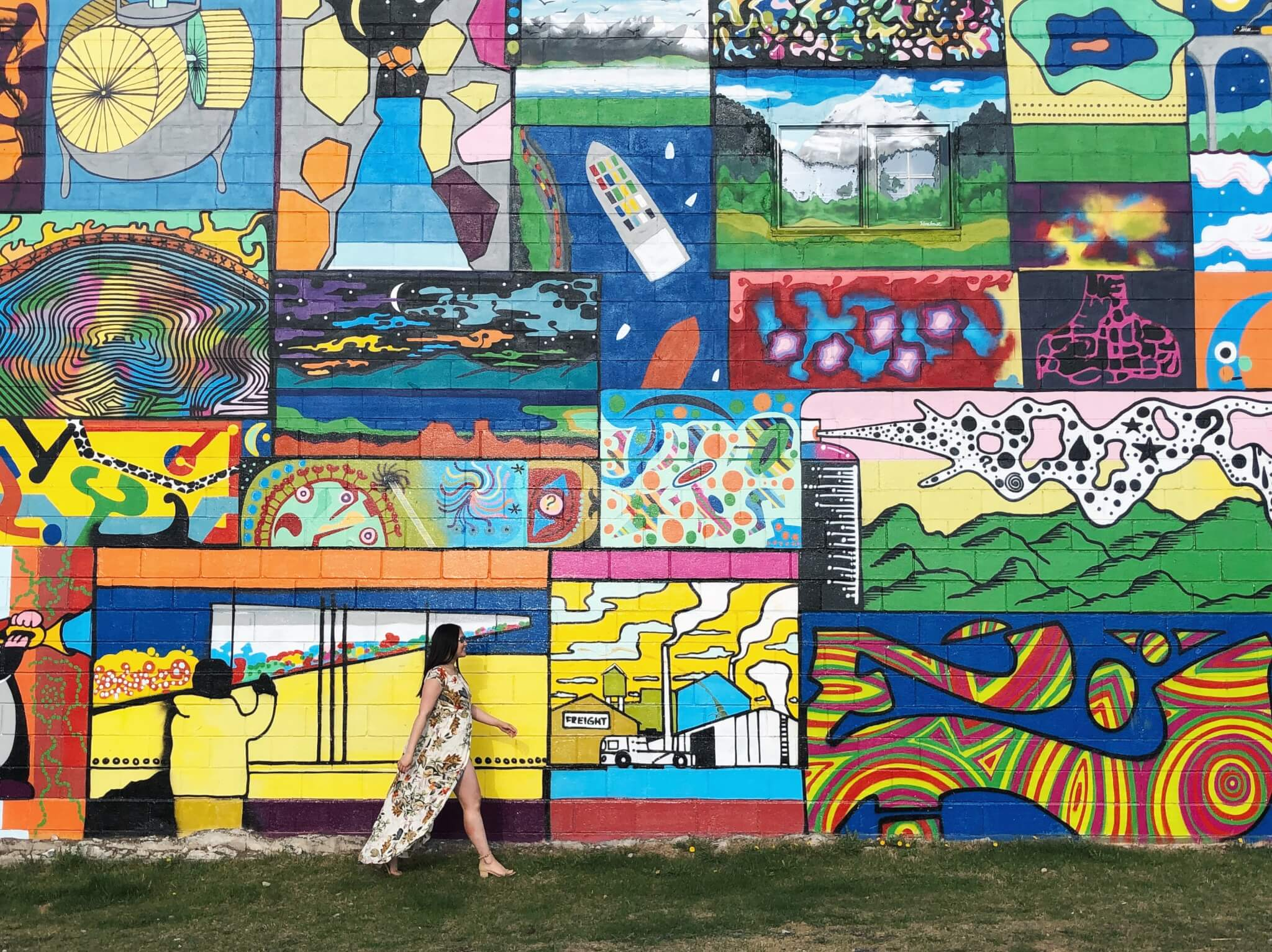 Instagrammable Walls of Edmonton Alberta Avenue