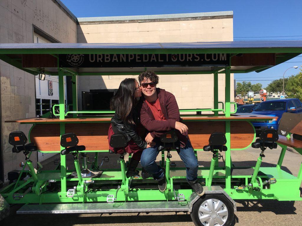 Explore Edmonton Travel Alberta Urban Pedal Tours Old Strathcona